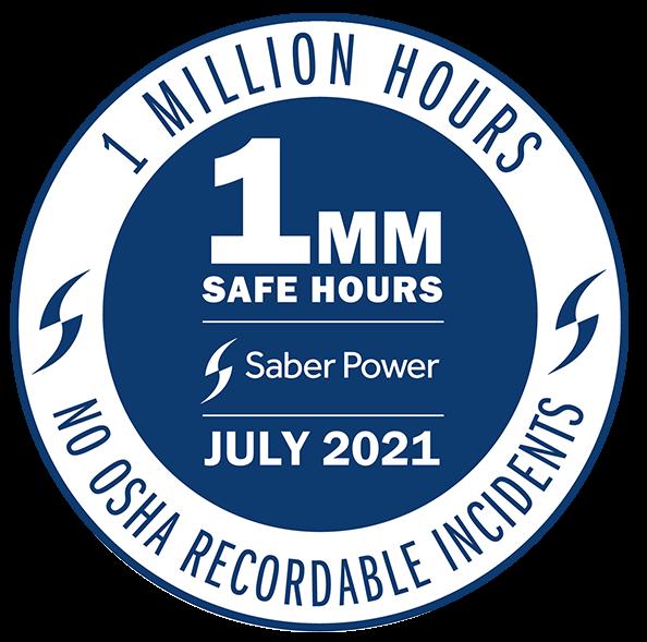 1 million safe hours