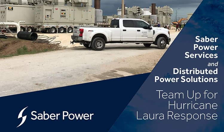 saber power hurricane laura response